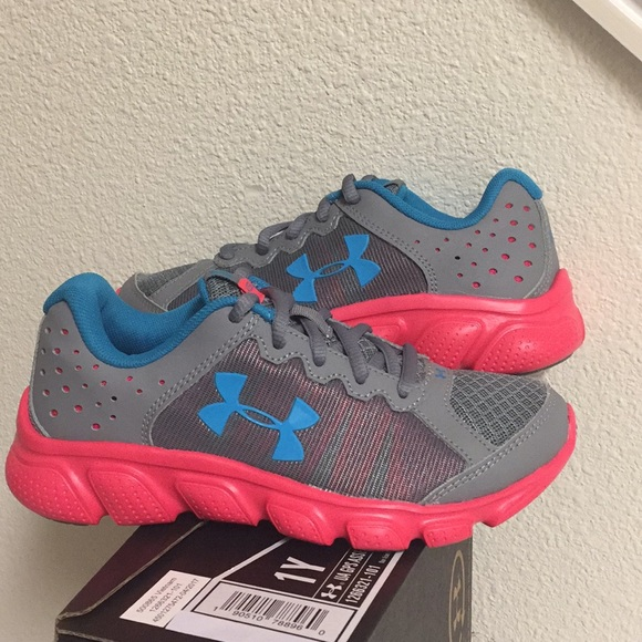 UNDER ARMOUR GPS ASSERT 6 (1Y) GIRLS SHOES 2b0a6ab18